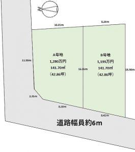 新着物件♪売土地【健新不動産販売株式会社】